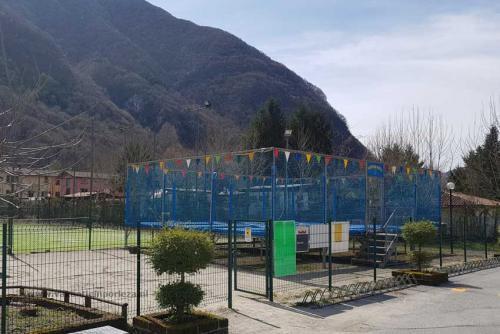 trampoline-Camping